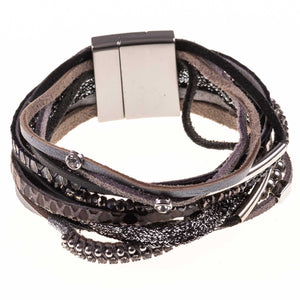 Bohemian Multilayer Braided Wrap Bracelet - Tom & Eva