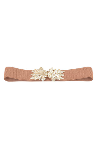 Mini Shells Buckle Elastic Belt - Tom & Eva