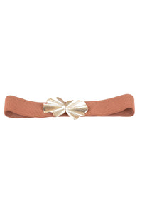 Elastic Belt with Metal Buckle - Tom & Eva