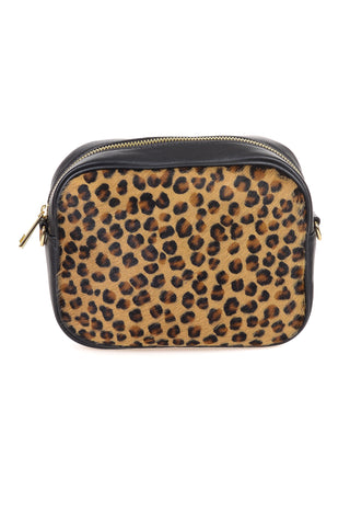 Leopard Print Leather Cluth - Tom & Eva