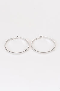 Silver Hoops - Tom & Eva