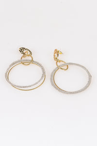 Single Link Hoop Earrings - Tom & Eva