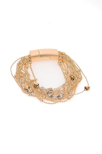 Multi Chain Gold Bracelet - Tom & Eva