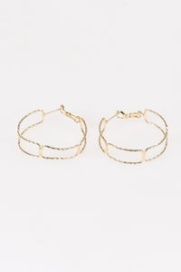 Link Hoop Earrings - Tom & Eva