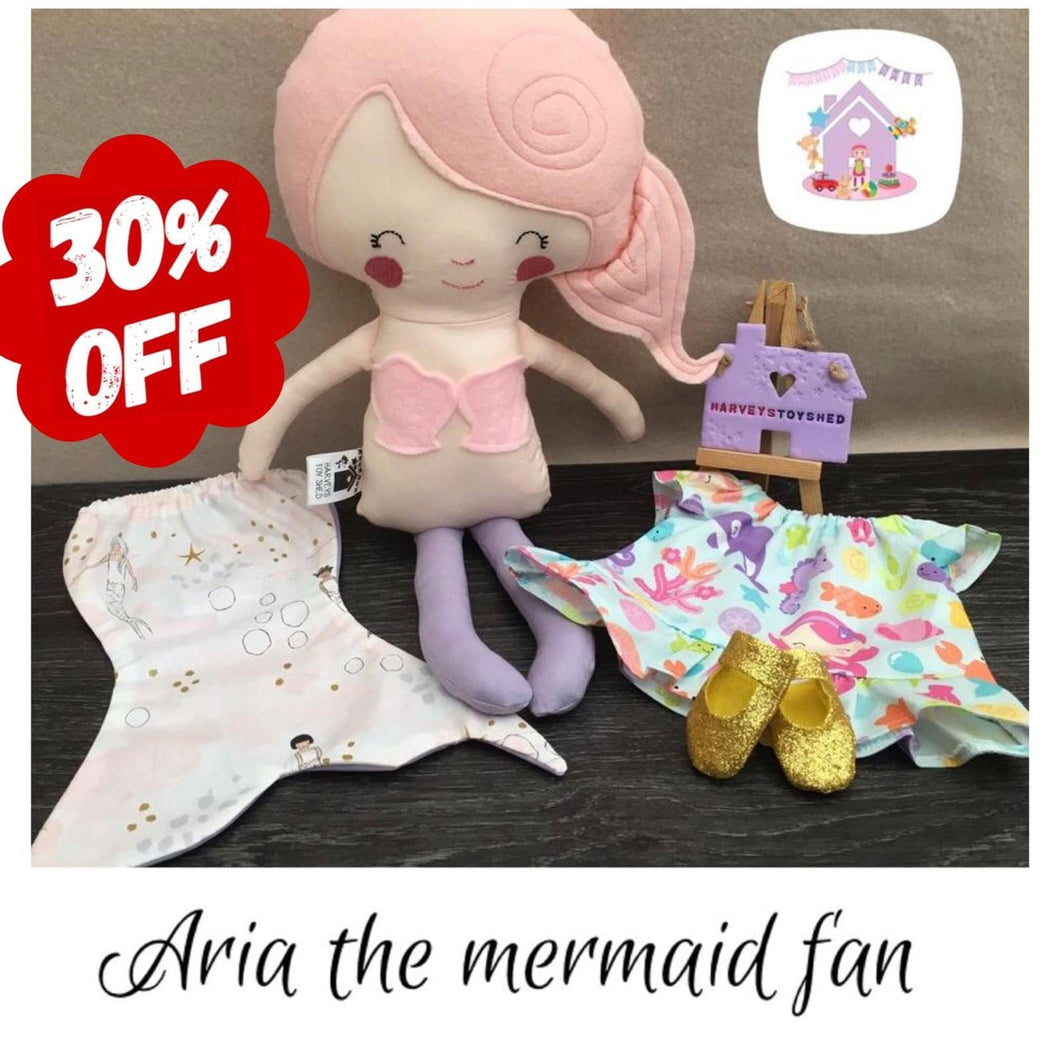 Aria The Mermaid Fan