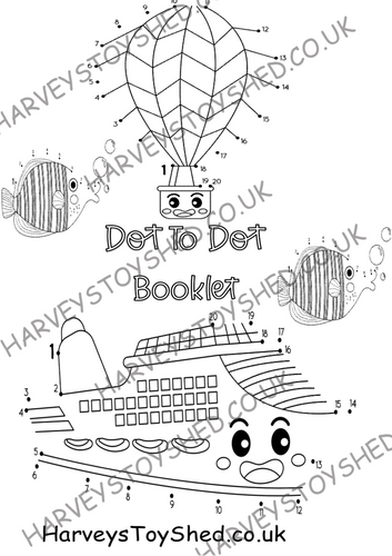 Dot To Dot Downloadable Booklet