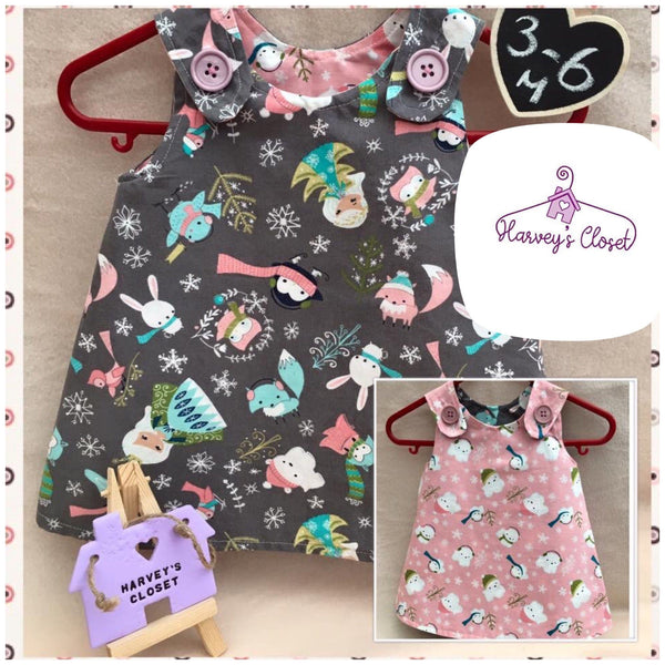Beautiful Baby's Dress, Shoes and Hair Band - HarveysToyShed