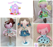 Handmade Fabric Doll - HarveysToyShed