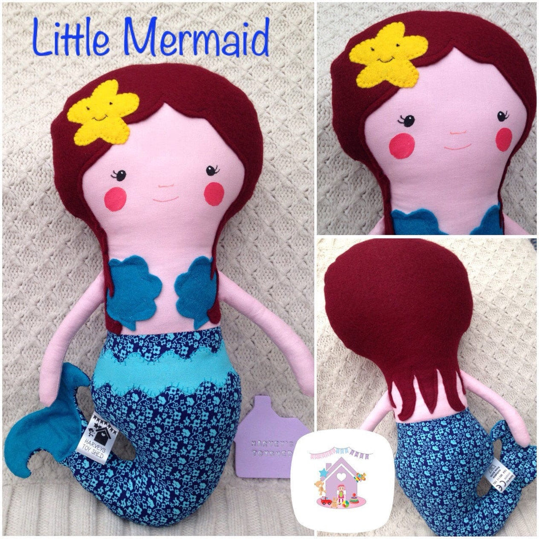 Mermaid Doll - HarveysToyShed