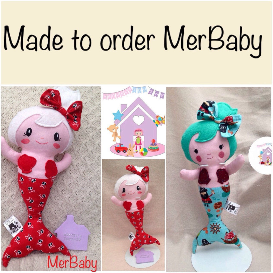 Merbabies Soft Doll