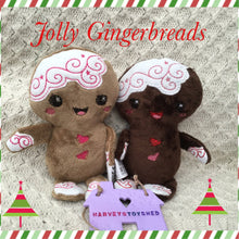 Jolly Gingerbreads Softies - HarveysToyShed