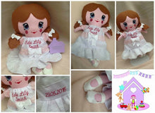Personalised soft Doll - HarveysToyShed