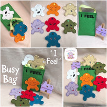 Emotions -Feelings Busy Bag - HarveysToyShed