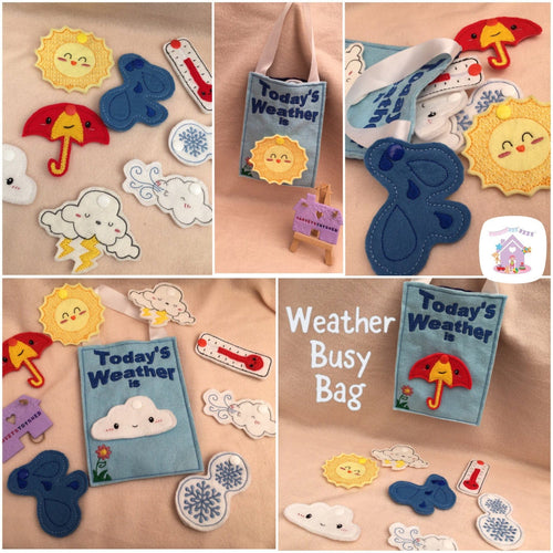 Weather Busy Bag - HarveysToyShed