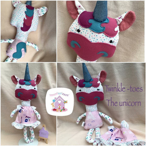 Unicorn Softie - HarveysToyShed