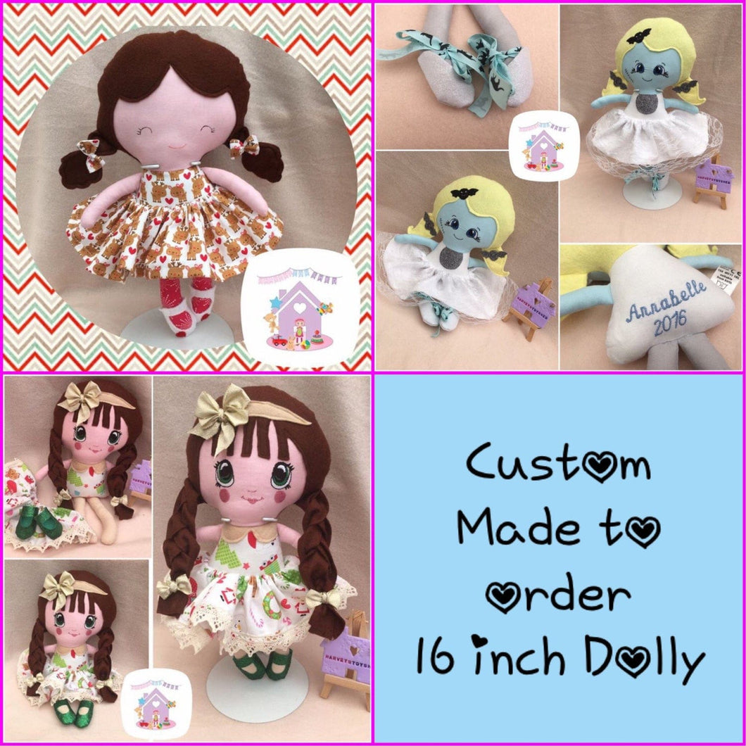 Medium Custom Doll - HarveysToyShed