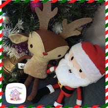 Handmade Christmas Soft Toy - HarveysToyShed
