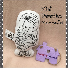 Mermaid Mini Doodle Softie - HarveysToyShed
