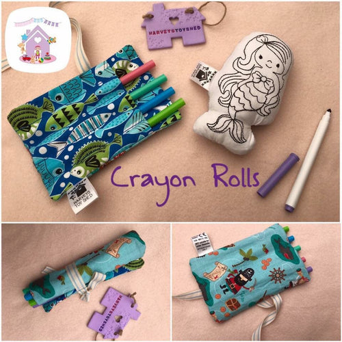 Mini Crayon Roll - HarveysToyShed