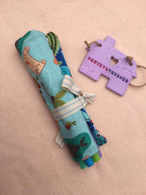 Handmade Childrens Crayon Roll - HarveysToyShed