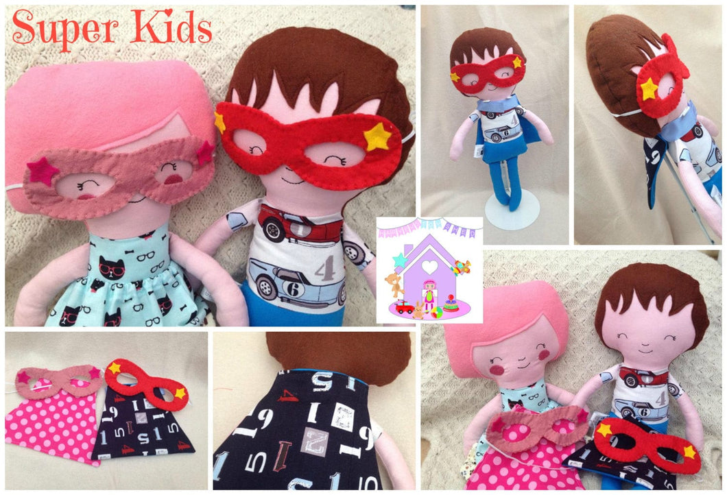Super Kid Dolls - HarveysToyShed