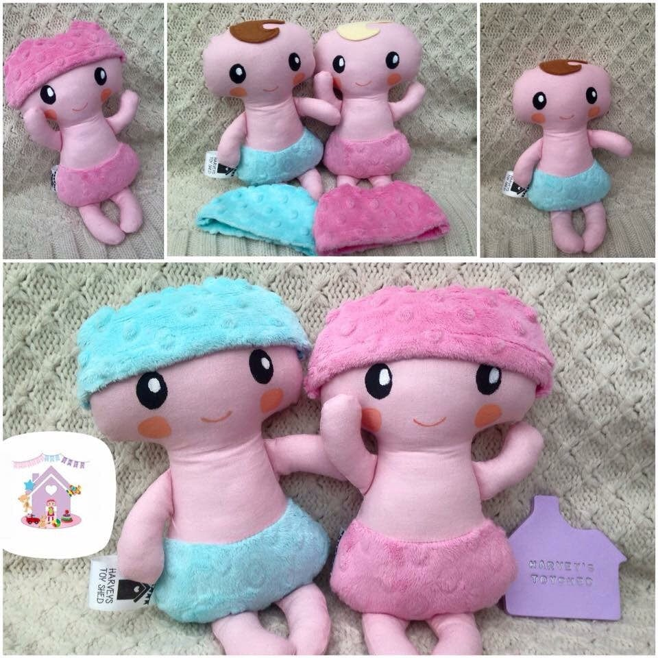 Baby Bubs Soft Fabric Doll - HarveysToyShed