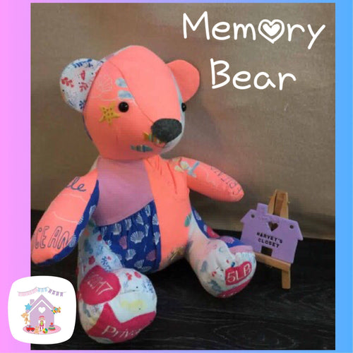 Memory Bear Keepsake - HarveysToyShed