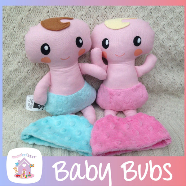 Baby Bubs Soft Fabric Doll