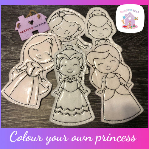 Colour You Own Princess