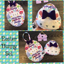 Easter Bunny Stop Sign and Egg Set
