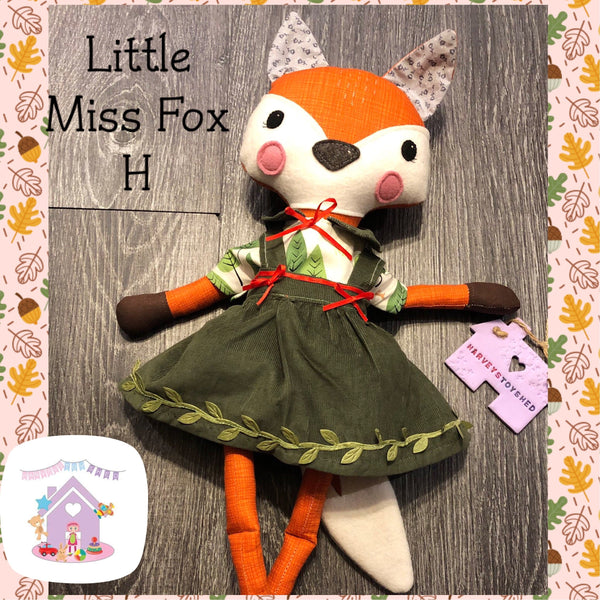 Little Miss Fox H - HarveysToyShed