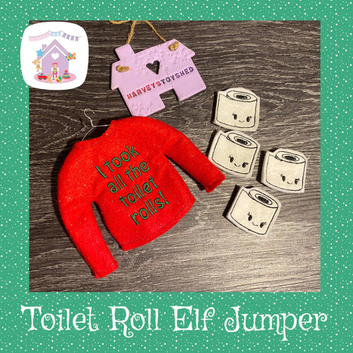 Toilet Roll Elf Jumper Set