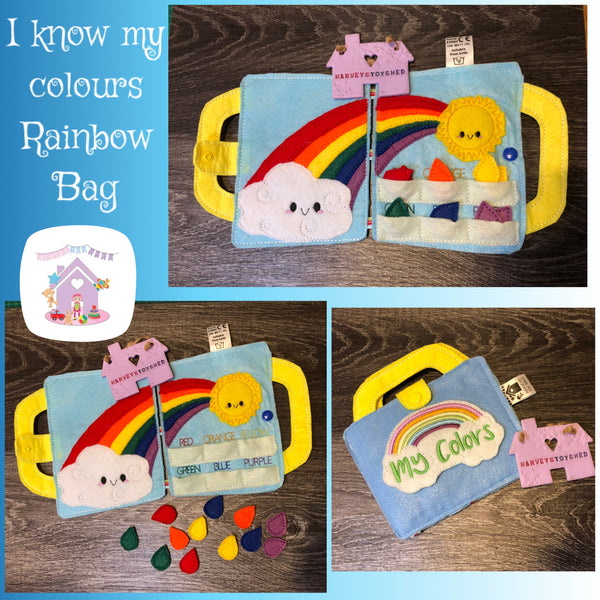 I Know My Colours Rainbow Travel Bag