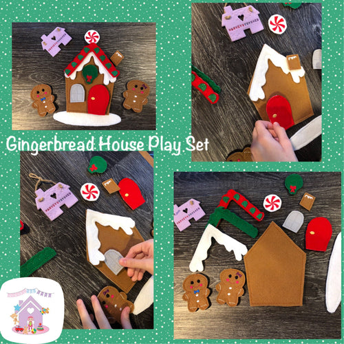 Gingerbread House Play Set - HarveysToyShed