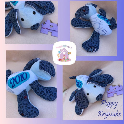Puppy Keepsake - HarveysToyShed