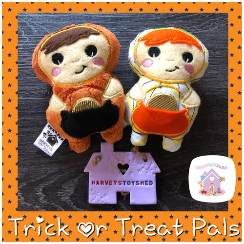 Trick Or Treat Pal Pumpkins - HarveysToyShed
