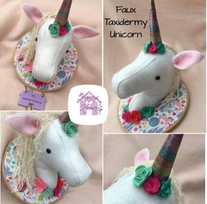 Unicorn 3D Wall Art