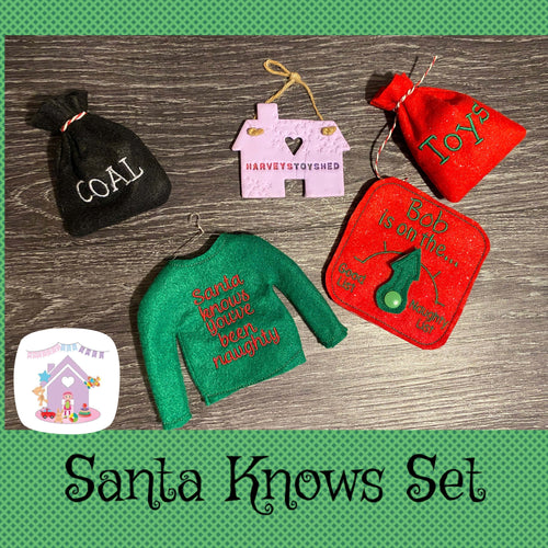 Santa Knows Elf Jumper Set
