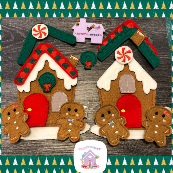 Gingerbread House Play Set