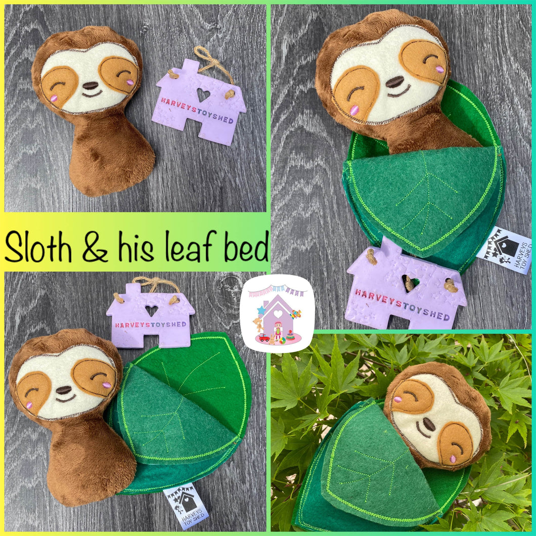 Sleepy Sloth and his Leaf Bed