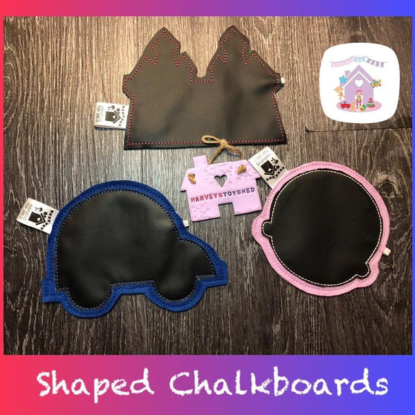 Shaped Chalkboards
