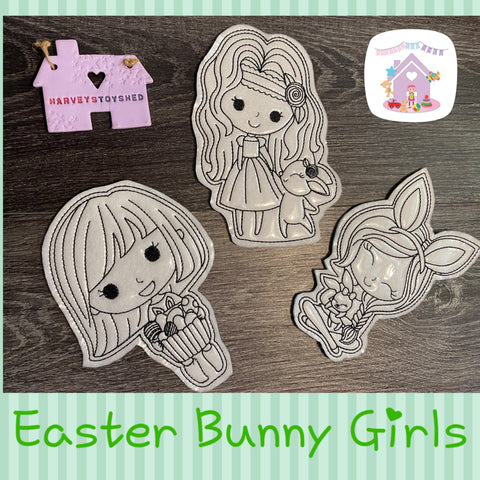 Easter Colouring Doll Set