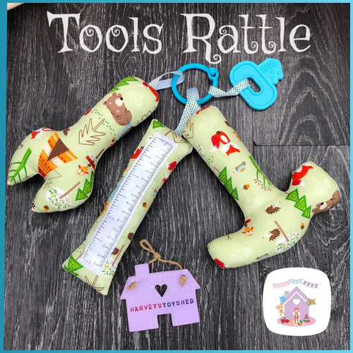 Tools rattle Set