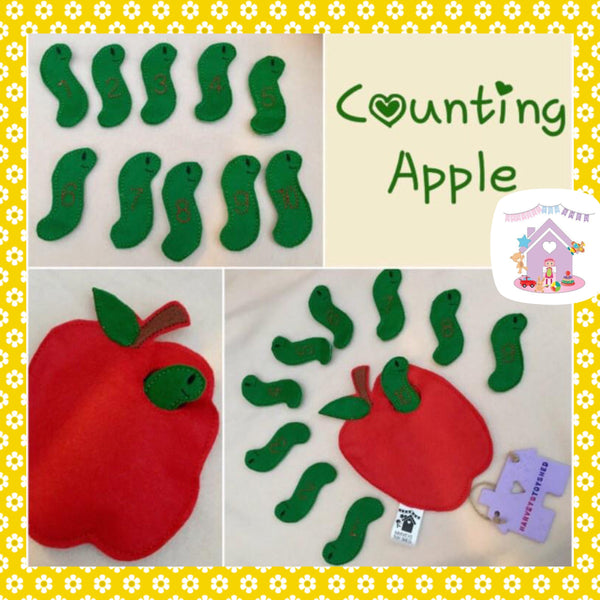 Counting Apple and Worms