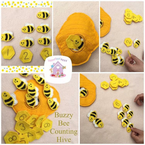 Buzzy Bee Counting Hive - HarveysToyShed