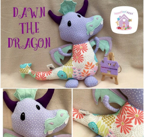 Dragon Soft Toy - HarveysToyShed