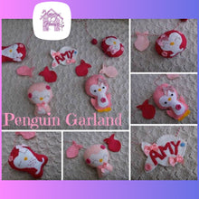 Cute Penguin Garland