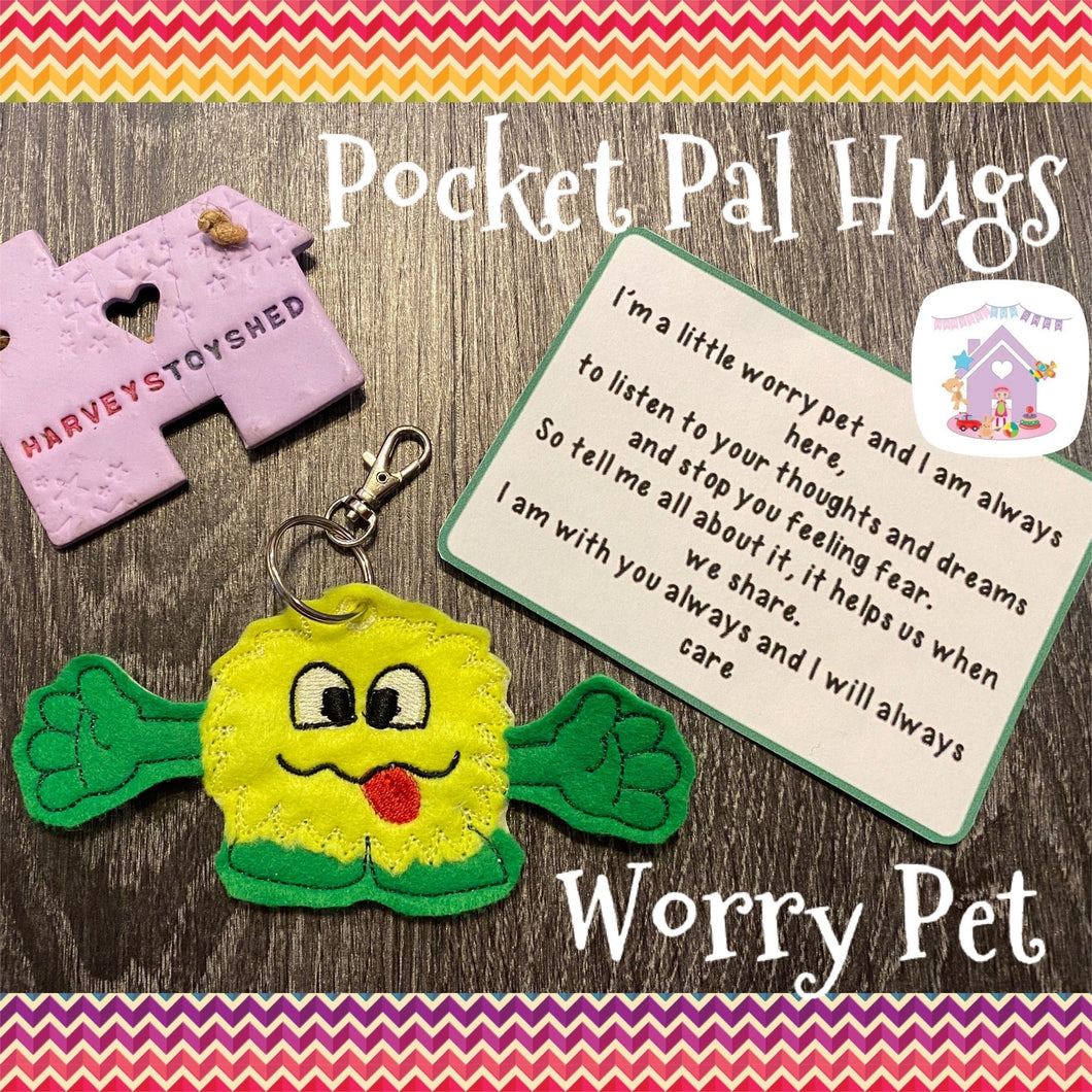 Worry Monster Pocket Hug Pal