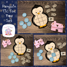 Christmas Tic Tac Toe Set
