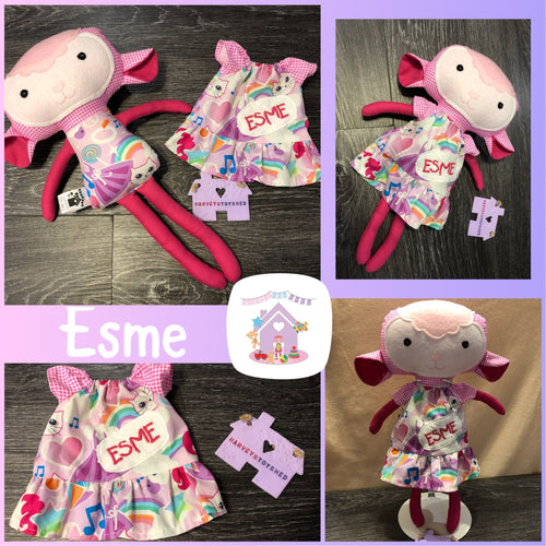 Lamb Softie - HarveysToyShed